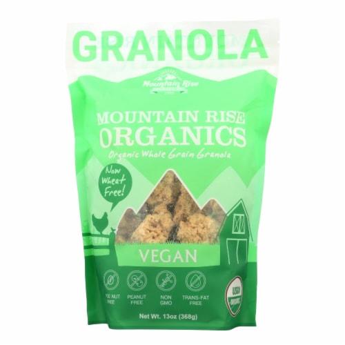 Mountain Rise Mountain Rise Granola Vegan - Granola - Case of 6 - 13 oz. Perspective: front