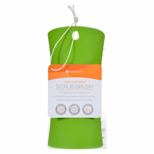 Full Circle Home Lean and Mean Scrub Brush - Case of 6 Perspective: front