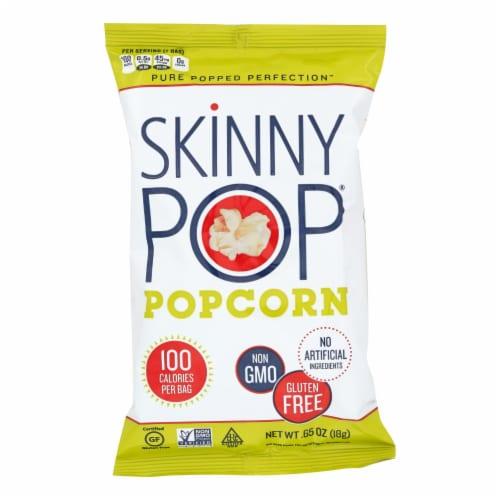Skinnypop Popcorn 100 Calorie Popcorn Bags - Case of 30 - 0.65 oz. Perspective: front