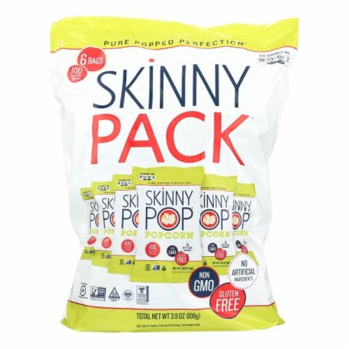 Skinnypop Popcorn 100 Calorie Popcorn Bags - Case of 10 - 0.65 oz. Perspective: front