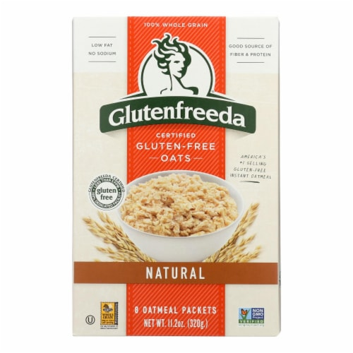 Gluten Freeda Natural Oatmeal - Case of 8 - 11.2 oz. Perspective: front
