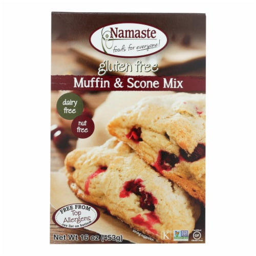 Namaste Foods Gluten Free Muffin & Scone Mix Perspective: front