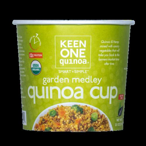 Keen One Quinoa Garden Medley Quinoa Cup Perspective: front