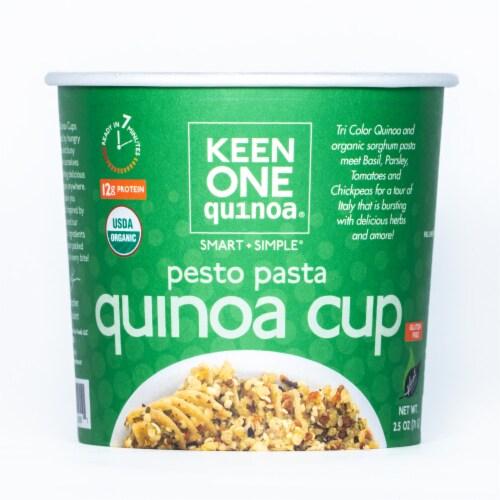 Keen One Quinoa Pesto Pasta Quinoa Cup Perspective: front