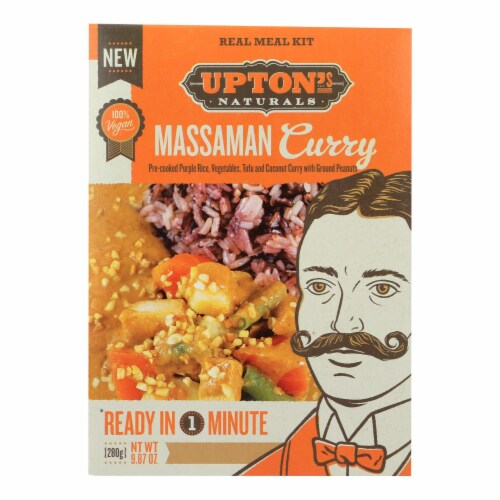 Upton's Naturals Meal Kit - Massaman Curry - Case of 6 - 9.87 oz Perspective: front