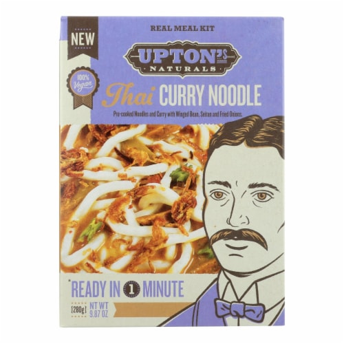 Upton's Naturals Meal Kit - Thai Curry Noodles - Case of 6 - 9.87 oz Perspective: front