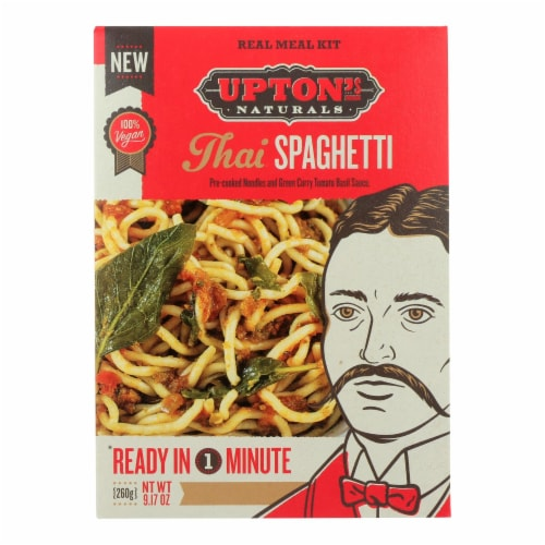 Upton's Naturals Meal Kit - Thai Spaghetti - Case of 6 - 9.17 oz Perspective: front