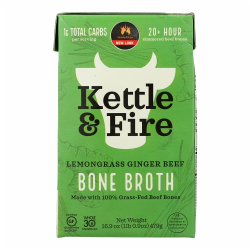 Kettle And Fire - Bone Broth Beef Pho - Case of 6 - 16.9 FZ Perspective: front