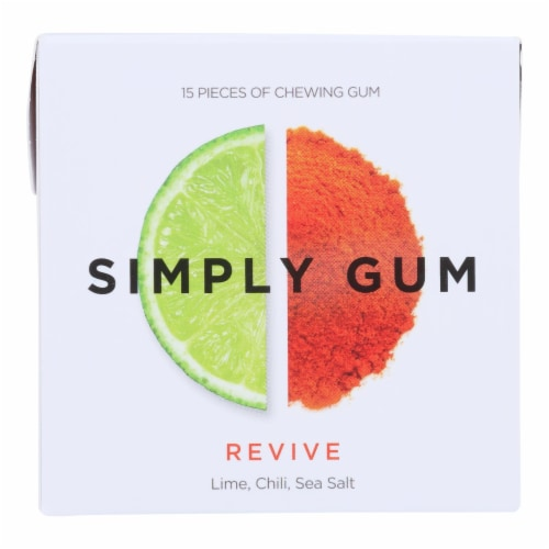Simply Gum - Gum Revive - Case Of 12 - 15 Ct Perspective: front