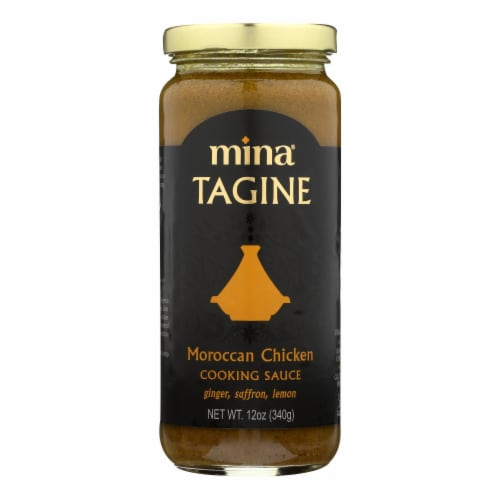 Mina's Moroccan Tagine Chicken Cooking Sauce  - Case of 6 - 12 OZ Perspective: front