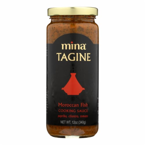 Mina's Moroccan Fish Tagine Sauce  - Case of 6 - 12 OZ Perspective: front