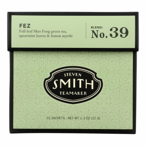 Smith Teamaker Green Tea - Fez - 15 Bags Perspective: front