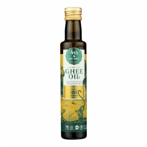 4th & Heart - Ghee Oil - Original Pourable - Case of 6 - 8.5 oz. Perspective: front