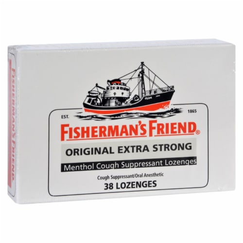 Fisherman's Friend Original Extra Strong Lozenges 38 ct Perspective: front