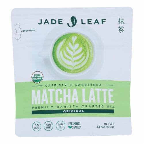 Jade Leaf Organics - Tea - Matcha Latte Mix - Case of 8 - 0.7 oz. Perspective: front