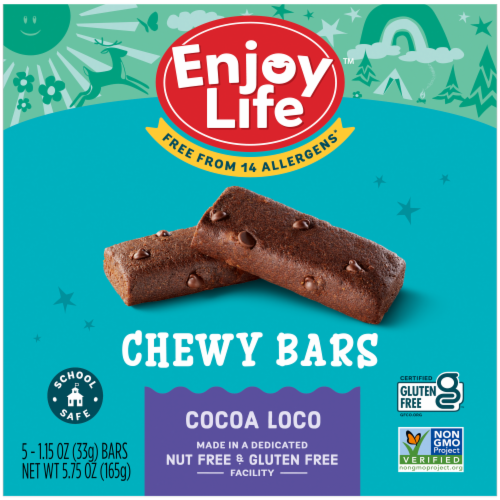 Enjoy Life - Snack Bar - Coco Loco - Gluten Free - 5 oz - case of 6 Perspective: front