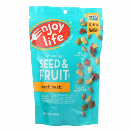 Enjoy Life Beach Bash Seed & Fruit Mix Perspective: front