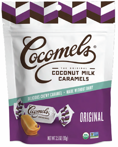 Cocomel - Organic Coconut Milk Caramels - Original Perspective: front