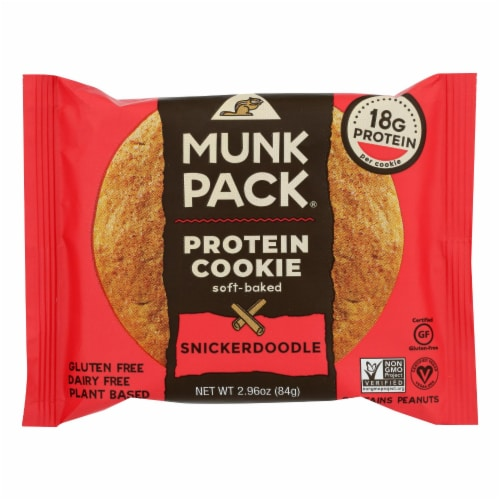 Munk Pack - Cookie Snickerdoodle - Case of 6 - 2.96 OZ Perspective: front