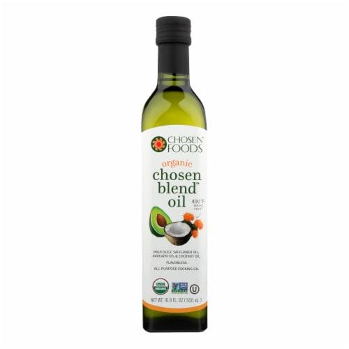 Chosen Foods Chosen Blend Oil  - Case of 6 - 16.9 FZ Perspective: front