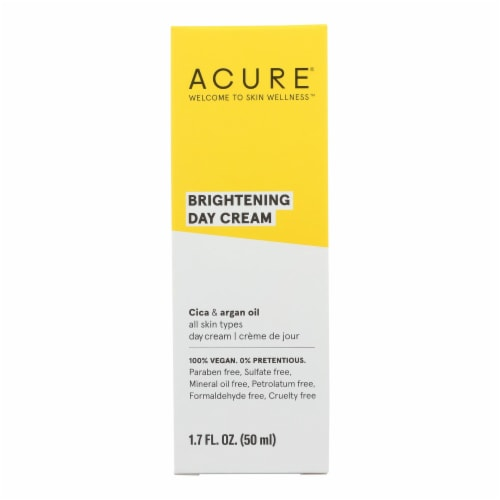 Acure - Day Cream - Gotu Kola Extract and Chlorella - 1.75 FL oz. Perspective: front