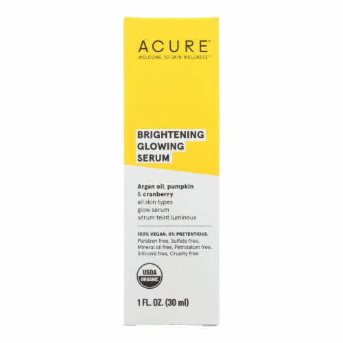 Acure - Serum - Firming Facial - 1 fl oz Perspective: front