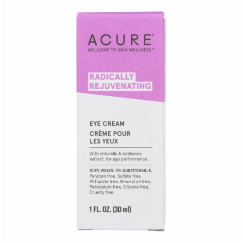 Acure - Eye Cream - Chlorella and Edelweiss Stem Cell - 1 FL oz. Perspective: front