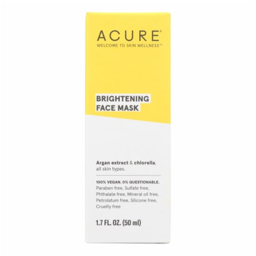 Acure - Facial Mask - Cell Stimulating - 1.75 FL oz. Perspective: front
