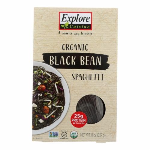Explore Cuisine Organic Black Bean Spaghetti - Spaghetti - Case of 6 - 8 oz. Perspective: front