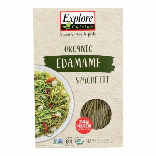 Explore Cuisine Organic Edamame Spaghetti - Edamame Spaghetti - Case of 6 - 8 oz. Perspective: front