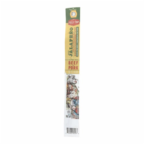 Field Trip Stick - Spicy Jalapeño - Case of 24 - 1 oz. Perspective: front