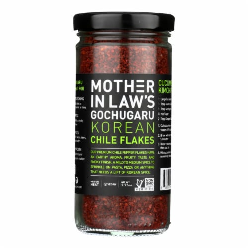 Mother-In-Law's Kimchi Chili Pepper Flakes - Case of 6 - 3.5 oz. Perspective: front