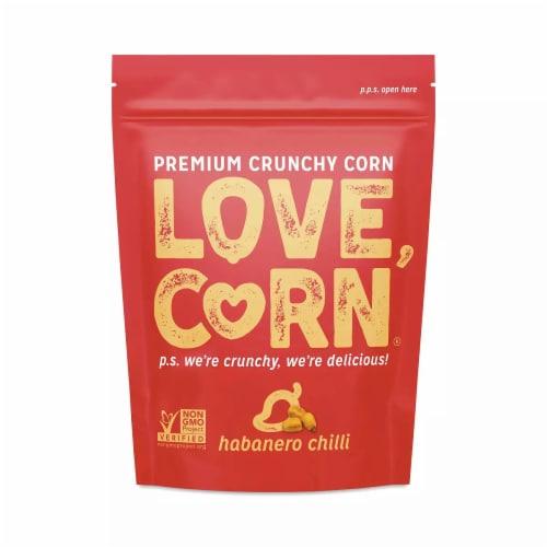 Love Corn Habanero Chilli Non GMO 4 oz (Pack of 12) Perspective: front