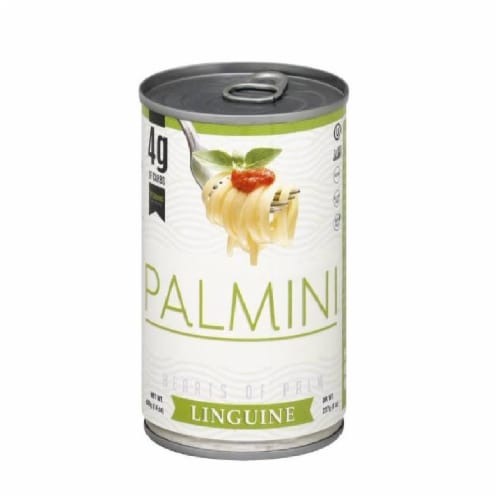Palmini Hearts of Palm Linguine 4G Carbs, 14oz (Pack of 6) Perspective: front