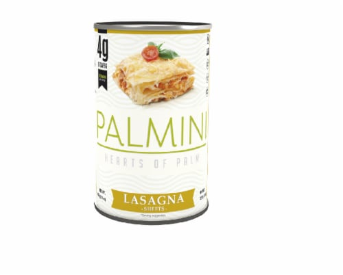 Palmini Hearts of Palm Lasagna, 14oz (Pack of 6) Perspective: front