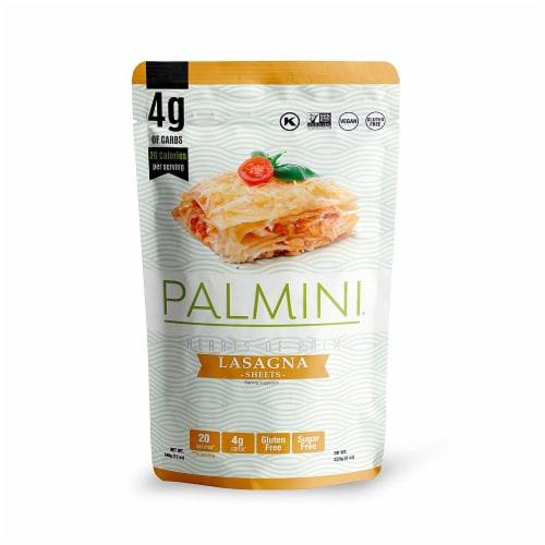 Palmini Gluten Free Sugar Free Vegan Hearts of Palm Lasagna Sheets, 12 oz [Pack of 6] Perspective: front