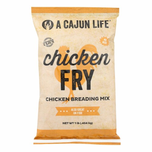 A Cajun Life Chicken Breading Mix - Case of 6 - 1 LB Perspective: front