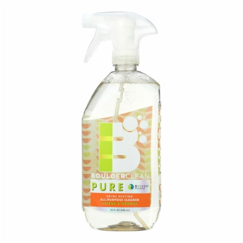 Boulder Clean Pure Valencia Orange All-Purpose Cleaner - Case of 6 - 28 FZ Perspective: front