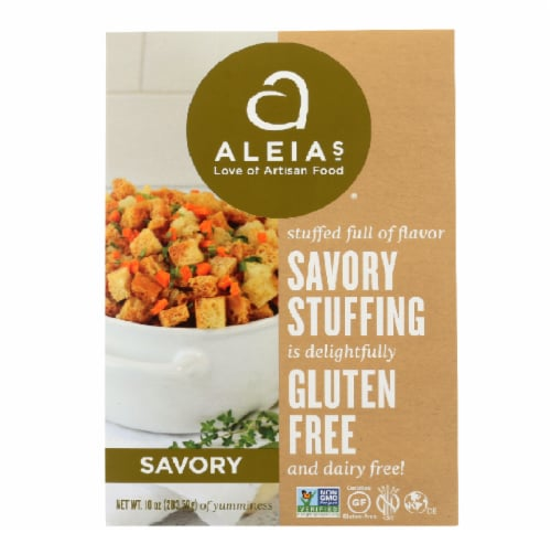 Aleias Gluten Free Savory Stuffing Mix Perspective: front