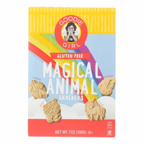 Goodie Girl Cookies - Animal Crackers Magical - Case of 6 - 7 OZ Perspective: front