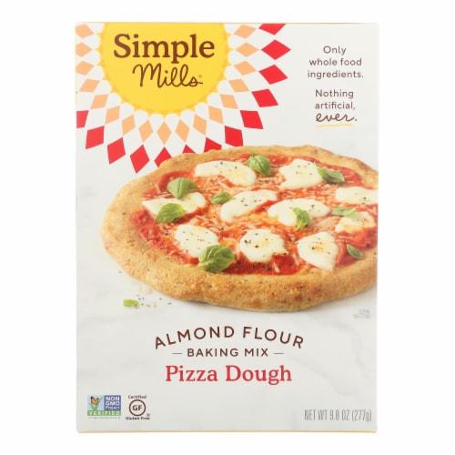 Simple Mills Almond Flour Pizza Dough Mix - Case of 6 - 9.8 oz. Perspective: front