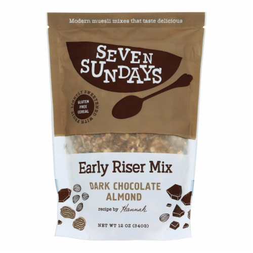 Seven Sundays Muesli - Cocoa Coconut - Case of 6 - 12 oz. Perspective: front