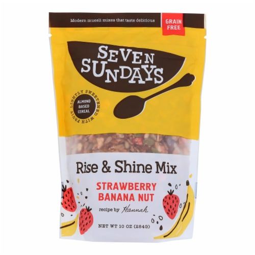 Seven Sundays - Muesli Ban Berry Chia Gluten Free - Case of 6 - 10 OZ Perspective: front