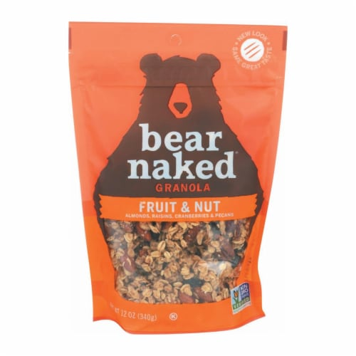 Bear Naked Granola - Fruit and Nutty - Case of 6 - 12 oz. Perspective: front