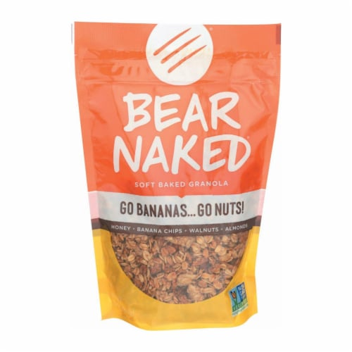 Bear Naked Granola - Go Bananas Go Nuts - Case of 6 - 12 oz. Perspective: front
