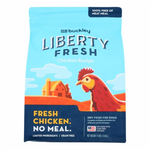 Buckley Pet Liberty Fresh Chicken Recipe Dry Dog Food Perspective: front