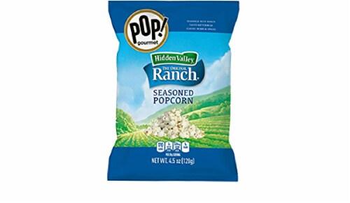Pop Gourmet Hidden Valley Ranch Popcorn, 4.5 oz (Pack of 12) Perspective: front