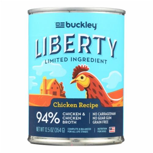 Buckley - Liberty Wet Food Chicken - Case of 12 - 12.5 OZ Perspective: front