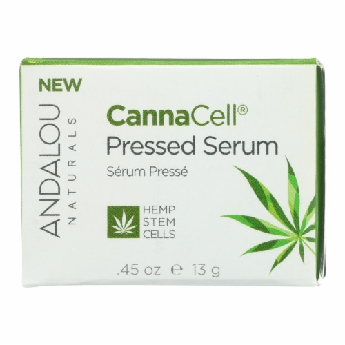 Andalou Naturals - CannaCell Pressed Serum - 0.45 oz. Perspective: front