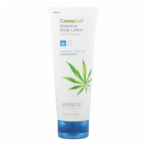 Andalou Naturals Lotion - Chamomile and Myrtle Leaf - 1 Each - 8 fl oz. Perspective: front
